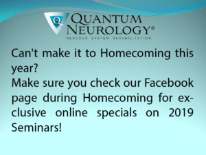Check Facebook during Homecoming for specials.